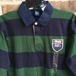 Polo by Ralph Lauren Shirts & Tops - Polo Ralph Lauren Boy's Striped Rugby Shirt